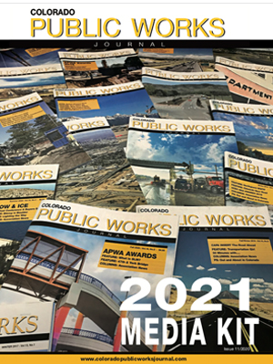 Colorado Public Works Journal Magazine Media Kit 2021
