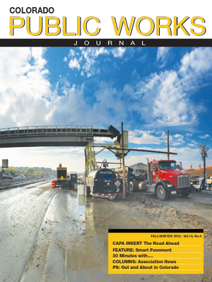 Issue 20, Fall-Winter 2018 Colorado Public Works Journal Magazine
