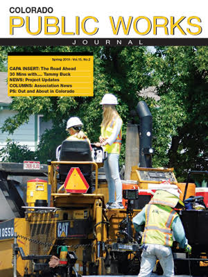 Issue 22, Spring 2019 Colorado Public Works Journal Magazine
