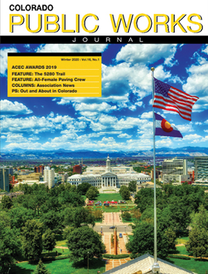 Issue 27, Winter 2020 Colorado Public Works Journal Magazine