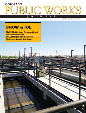 Issue 12, Summer/Fall 2017 Colorado Public Works Journal Magazine