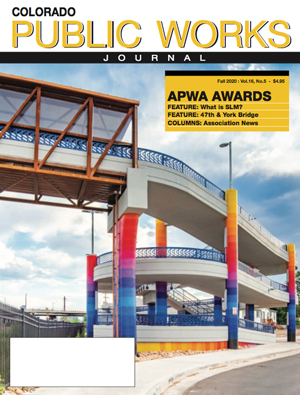 Issue 31, Fall 2020 Colorado Public Works Journal Magazine