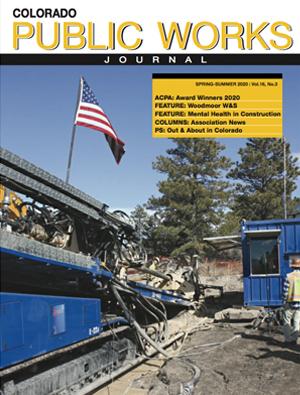 Issue 29, Spring/Summer 2020 Colorado Public Works Journal Magazine