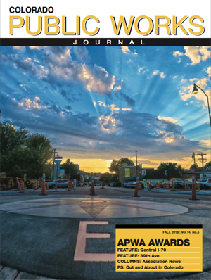 Issue 19, Fall 2018 Colorado Public Works Journal Magazine