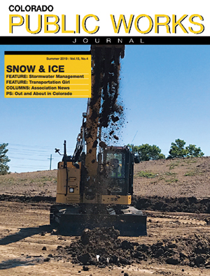 Issue 24, Summer 2019 Colorado Public Works Journal Magazine