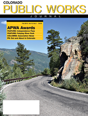 Issue 25, Fall 2019 Colorado Public Works Journal Magazine